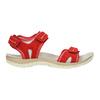 Červené dámské sandály kožené weinbrenner, červená, 566-5608 - 15