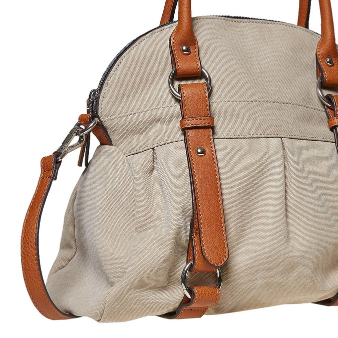 Dámská textilní kabelka bata, 969-8336 - 26