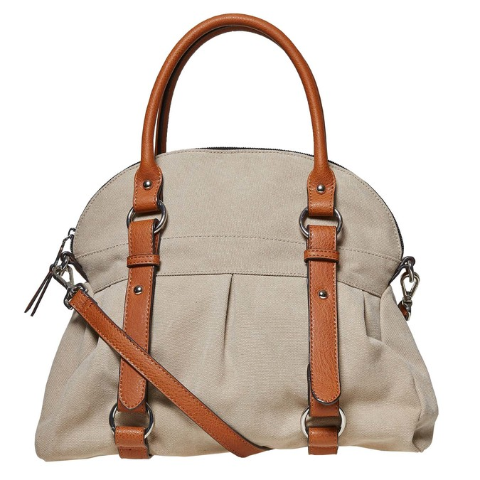 Dámská textilní kabelka bata, 969-8336 - 17