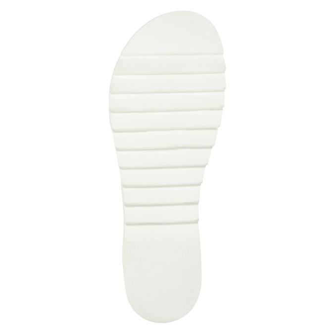 Dámské kožené sandály weinbrenner, hnědá, 566-4630 - 26