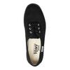 Černé dámské tenisky tomy-takkies, černá, 589-6180 - 26