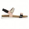 Kožené dámské sandály na suchý zip weinbrenner, růžová, 566-3630 - 15