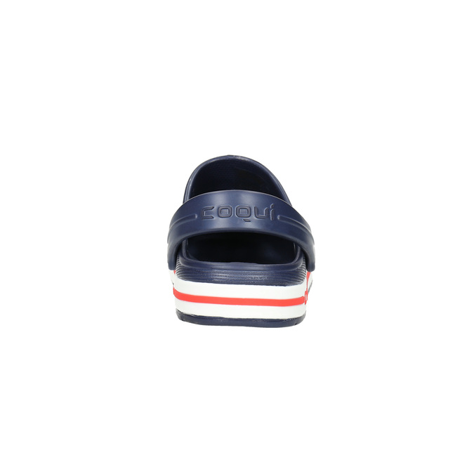 Modré dětské sandály coqui, modrá, 272-9603 - 17