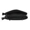 Menší černá kabelka s klopu bata, černá, 961-6731 - 15
