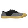 Pánské tenisky s gumovou špicí bata-tennis, černá, 889-6402 - 15