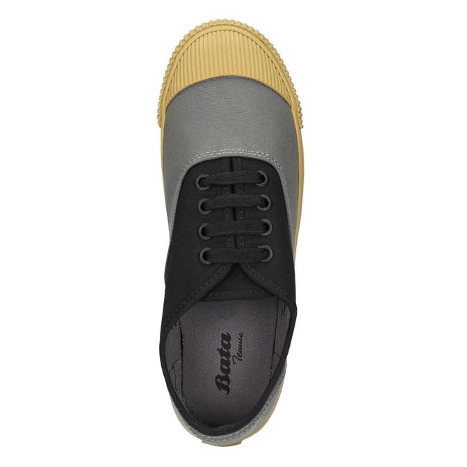 Dámské tenisky s gumovou špicí bata-bullets, černá, 589-6402 - 26