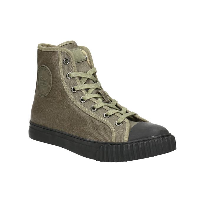 Khaki kotníčkové tenisky bata-bullets, zelená, 589-7143 - 13