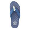 Pánské modré žabky north-star, modrá, 871-9616 - 26