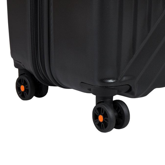 Černý kufr na kolečkách american-tourister, černá, 960-6607 - 19