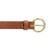 Hnědý dámský kožený opasek bata, hnědá, 954-4197 - 26