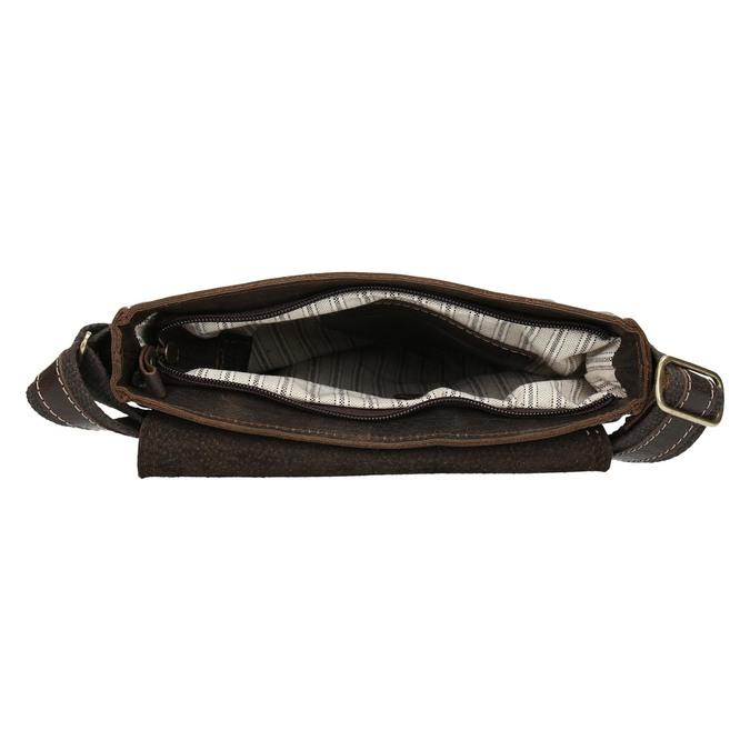 Kožená pánská taška bata, hnědá, 964-4283 - 15