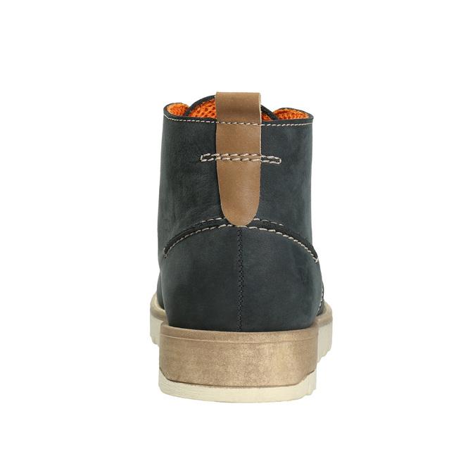 Pánské kožené chukka boots weinbrenner, modrá, 846-9629 - 16