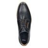 Neformální kožené polobotky bata, modrá, 826-9910 - 26