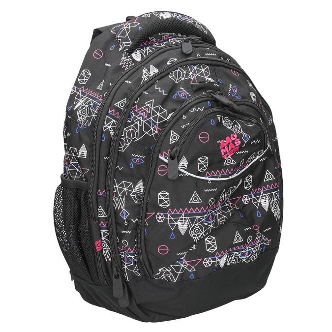 Školní batoh s potiskem bagmaster, černá, 969-6650 - 13