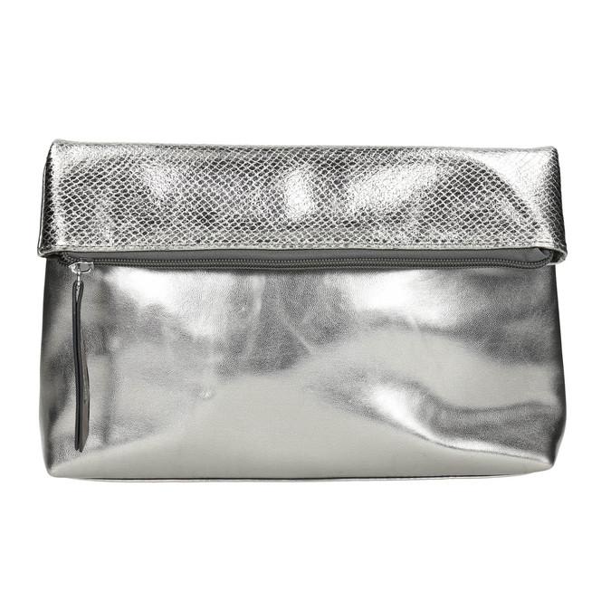 Stříbrná Crossbody kabelka bata, stříbrná, 961-1501 - 17