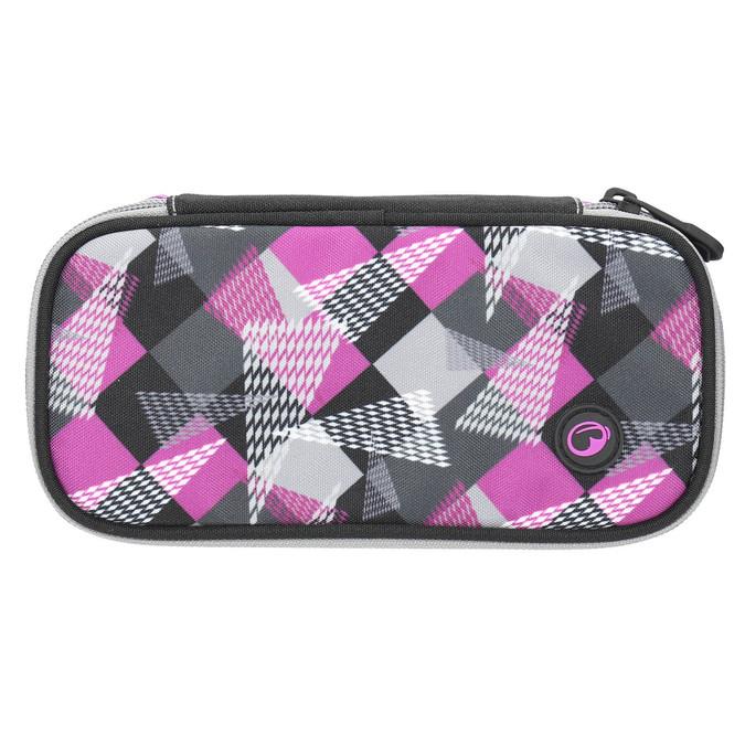 Růžový školní penál bagmaster, růžová, 969-5657 - 26