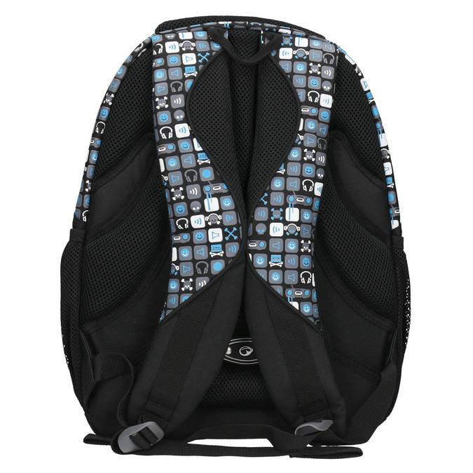 Školní batoh chlapecký bagmaster, modrá, 969-9654 - 19