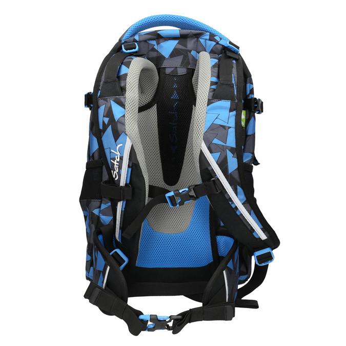 Modrý batoh se vzorem satch, modrá, 969-9049 - 16