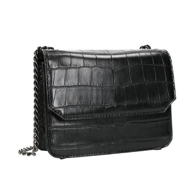 Dámská kabelka s řetízkem bata, černá, 961-6753 - 13