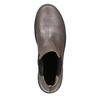Kožená dámská Chelsea obuv bata, hnědá, 596-1671 - 15