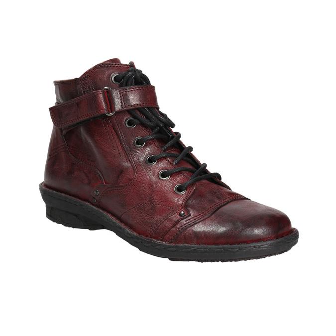 Baťa Dámská kožená kotníčková obuv  33513f8c70