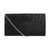 Černé dámské psaníčko bata, černá, 969-6661 - 26