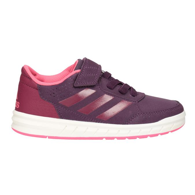 Fialové dětské tenisky adidas, fialová, 301-5194 - 26