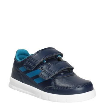 Dětské tenisky na suché zipy adidas, modrá, 101-9161 - 13