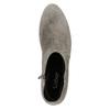 Kotníčkové dámské kozačky se cvoky gabor, šedá, 613-2023 - 26