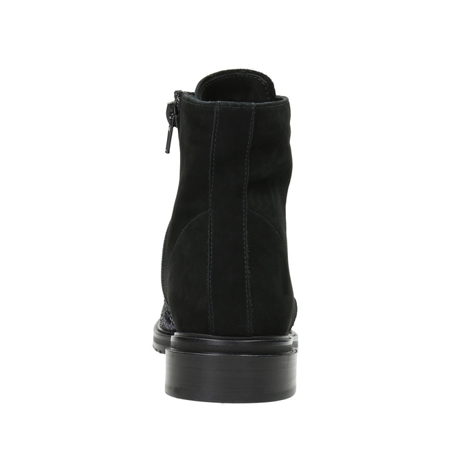Kotníčková kožená obuv classico-and-bellezza, vícebarevné, 526-0028 - 16