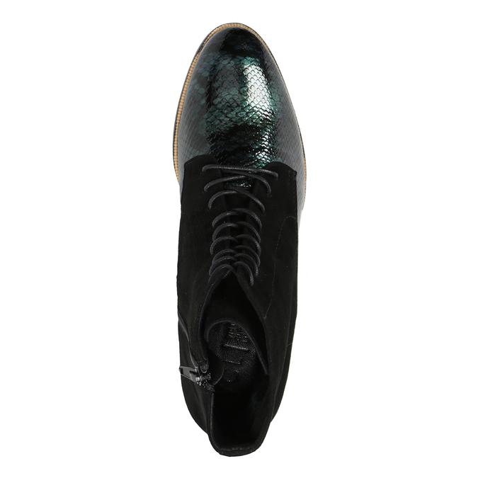 Šněrovací kožená obuv classico-and-bellezza, 526-0029 - 15