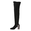 Dámské kozačky nad kolena classico-and-bellezza, černá, 796-6024 - 15