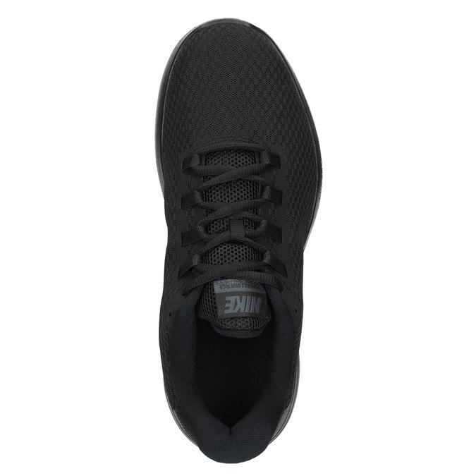Pánské černé tenisky nike, černá, 809-6290 - 15