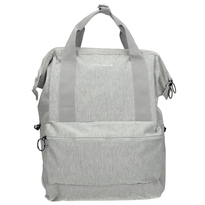 Šedý textilní batoh bjorn-borg, šedá, 969-2023 - 26