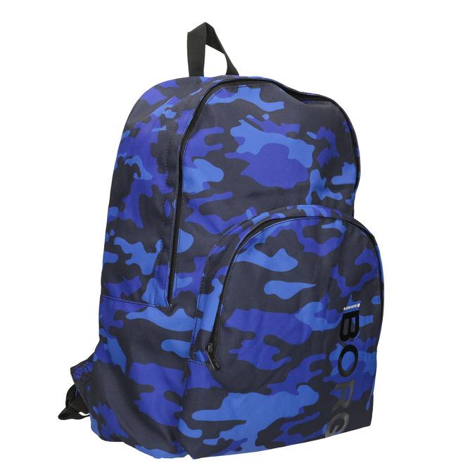Maskáčový modrý batoh bjorn-borg, modrá, 969-9007 - 13