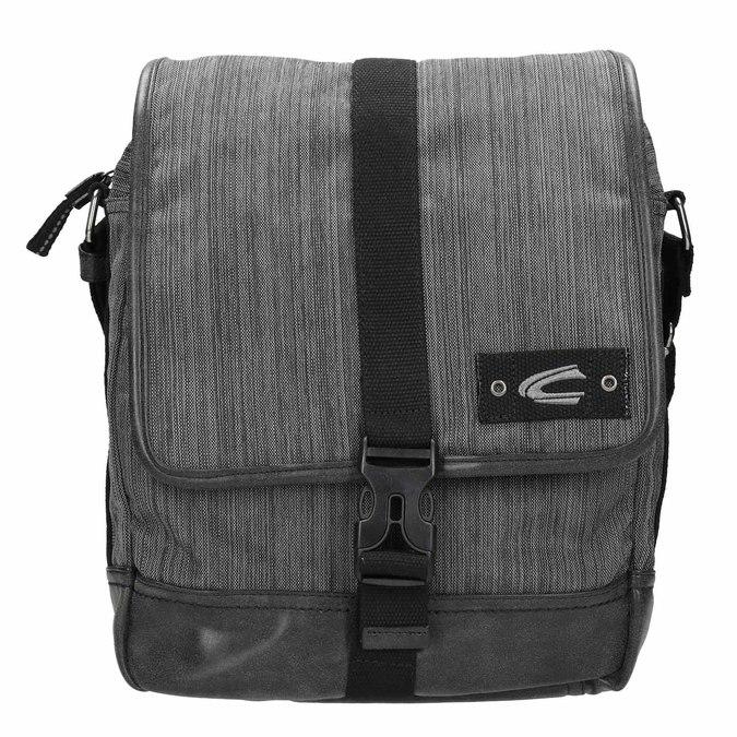 Šedá Crossbody taška s žíháním camel-active-bags, šedá, 969-2037 - 26