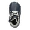 Kožená dětská obuv bubblegummers, modrá, 114-9610 - 26