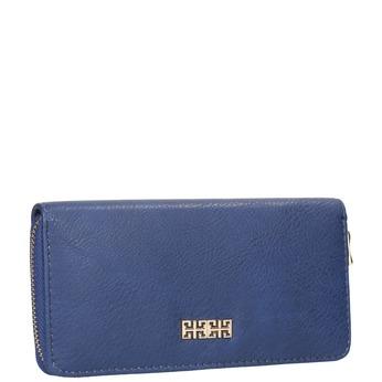 modrá dámská peněženka bata, modrá, 941-9180 - 13