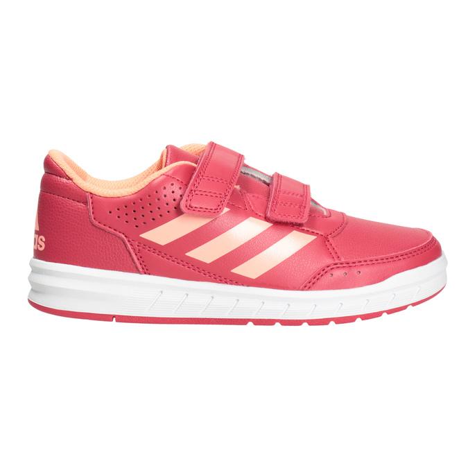 Růžové dětské tenisky adidas, růžová, 301-5197 - 26
