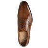 Kožené Oxford polobotky se zdobením bata, hnědá, 826-3690 - 26