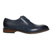 Ležérní kožené polobotky modré bata, modrá, 826-9681 - 15