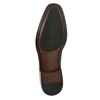 Pánské kožené Oxford polobotky bata, červená, 826-5683 - 19