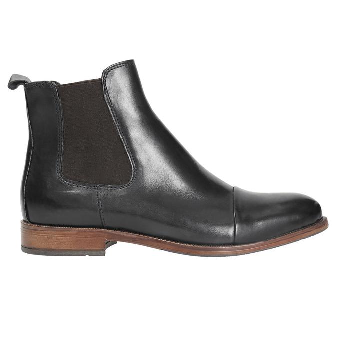 Dámská kožená Chelsea obuv bata, černá, 594-9636 - 26