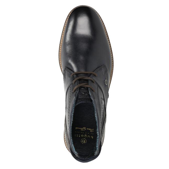 Pánské kožené Chukka Boots bugatti, modrá, 826-9007 - 15