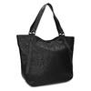 Dámská černá kabelka se cvoky bata, černá, 961-6787 - 13