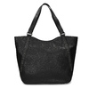 Černá dámská kabelka s prošitím bata, černá, 961-6787 - 26