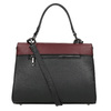 Dámská kožená kabelka s popruhem bata, černá, 964-6248 - 16