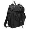 Černý batoh s kapsami bata, černá, 969-6163 - 13