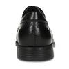 Kožené derby pánské černé polobotky fluchos, černá, 824-6440 - 15