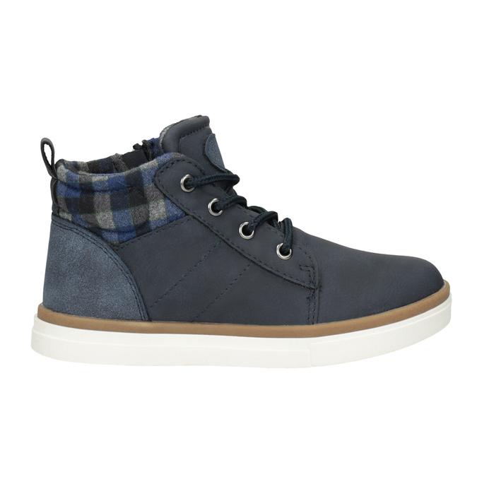 Dětská kotníčková obuv mini-b, modrá, 291-9172 - 26